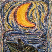 Drawing In the Night Boat by Emily K. Grieves