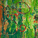 Acrylic painting Cirque (Triptych)     24x54 ________(click on the i for info) by Edward Bock