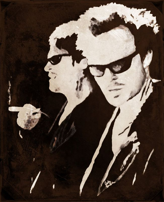 Acrylic painting Boondock Saints by Carly Jaye Smith