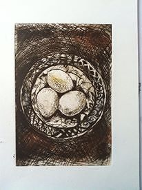 Print All my eggs in one basket by Bronagh Corr-McNicholl
