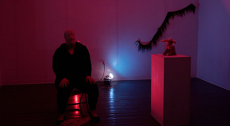 Documentation Still from Not Withholdoing Performance by Laine Godsey