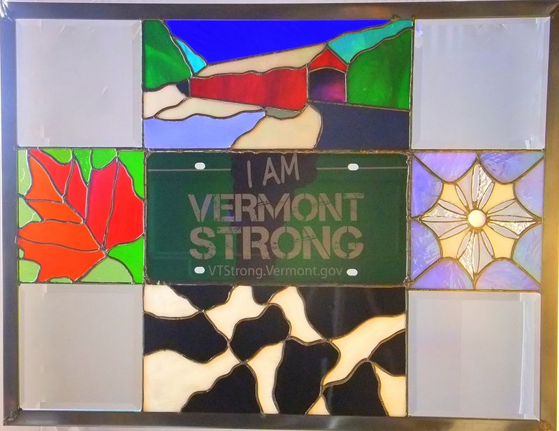 Drawing Vermont Strong by Evi Cundiff