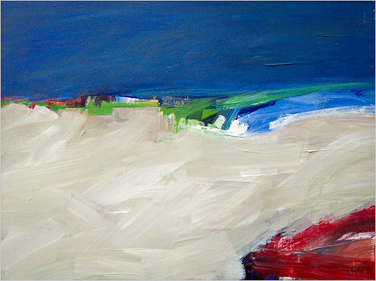 Acrylic painting Elements No. 43 by David Tycho