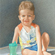 Drawing Rory at 18 months by Claudette Webb