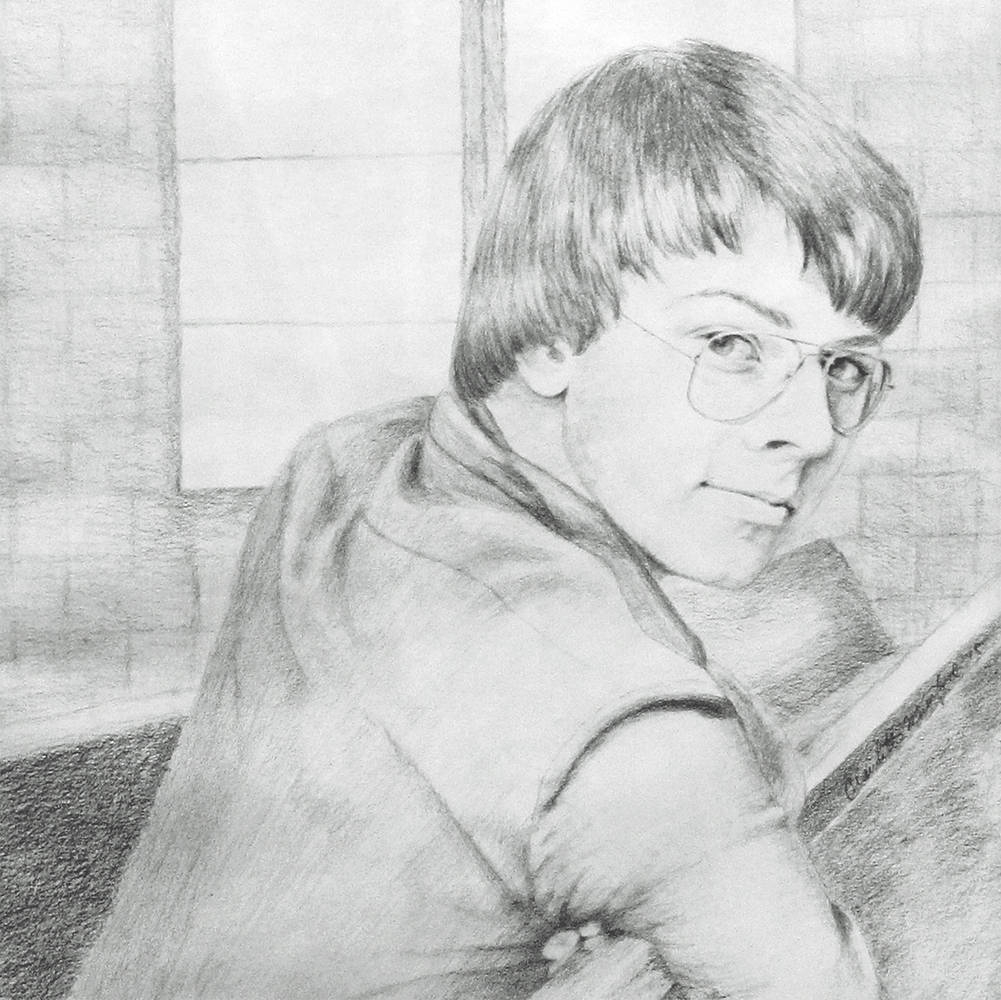 Drawing Richard by Claudette Webb