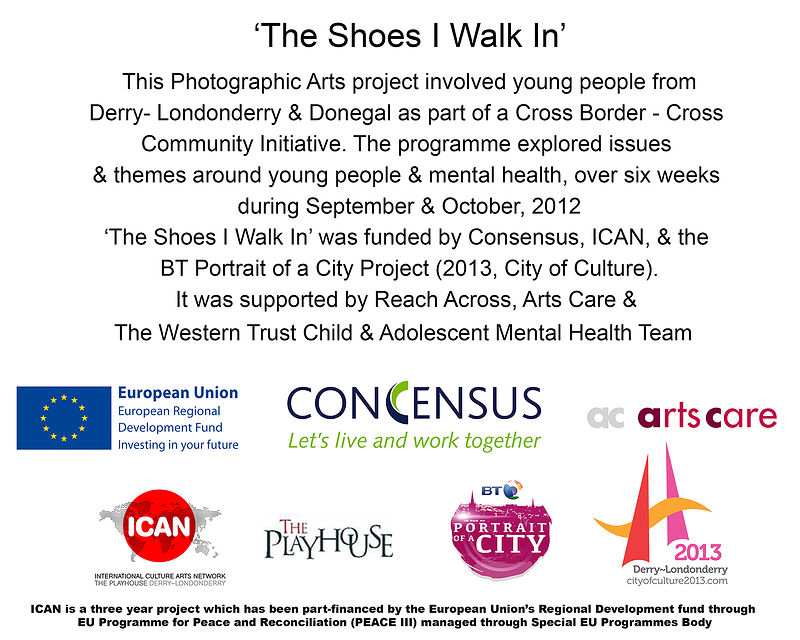 TheShoes I Walk In by Bronagh Corr-McNicholl
