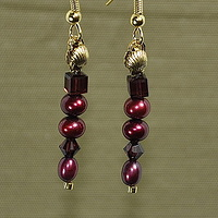 Black Cherry Elegance by Sue Ellen Brown