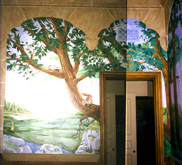 Child's Bedroom Mural by John Keaton
