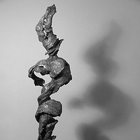 Sculpture Smoking Root by Jonathan  Hertzel