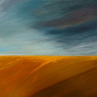 Oil painting Prairie Storm by Wayne Pitchko