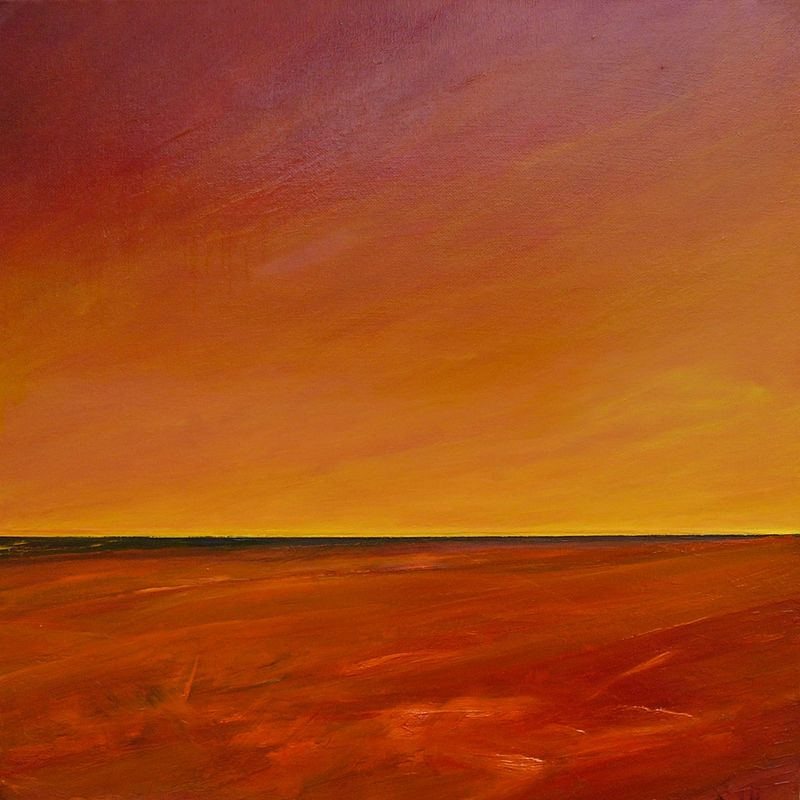 Oil painting Horizon #2......SOLD by Wayne Pitchko