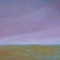 Acrylic painting Coral Sea by Wayne Pitchko