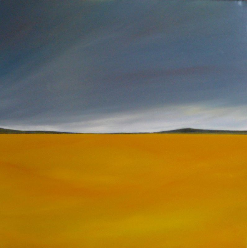 Oil painting Foothills 6   by Wayne Pitchko