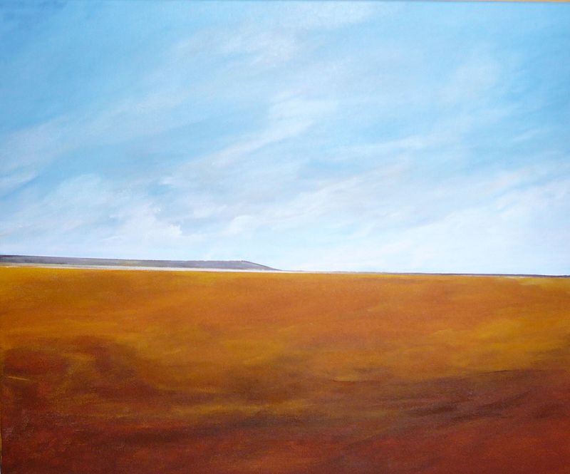 Oil painting Foothills #1  by Wayne Pitchko
