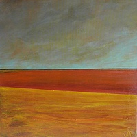 Oil painting Prairie Landscape   1  SOLD by Wayne Pitchko