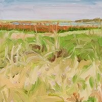 Oil painting Prairie Suite #5 by Edie Marshall