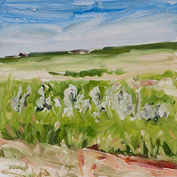 Oil painting Prairie Suite #2 by Edie Marshall