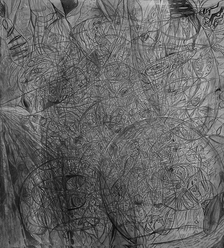 Drawing Untitled, 2004 by Melissa Ann lambert