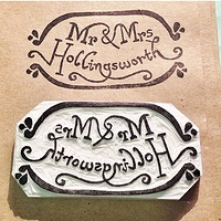 Mr & Mrs H - Stamp and Impression by ROSE WILLIAMS