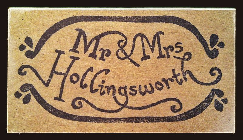 Mr & Mrs Hollingsworth by ROSE WILLIAMS