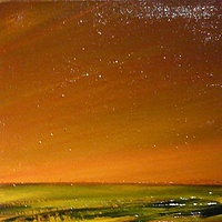 Oil painting SPARKLING COULEE by Wayne Pitchko