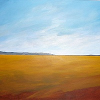 Oil painting FOOTHILLS #2  by Wayne Pitchko
