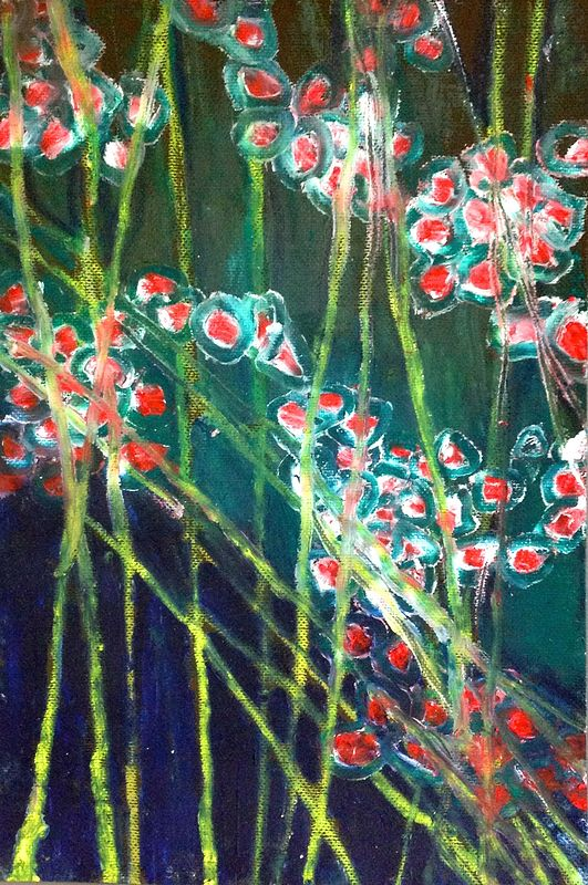 Red Stemmed Mosses by Yvonne Vander Kooi