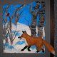 Fox in the Snow by Valerie Johnson