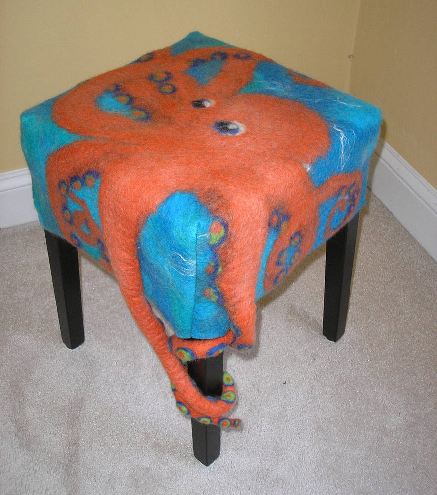 Octopus Stool by Valerie Johnson