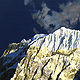 Oil painting Karakoram--Sangemar Mar, 2002 by David  Maxim