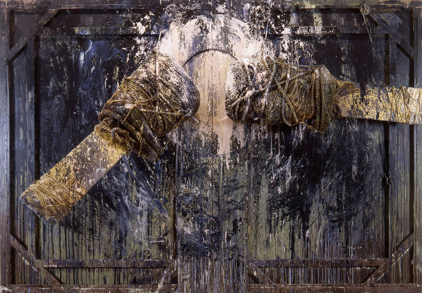 Acrylic painting  Cycle, 1989  by David  Maxim