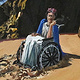 Oil painting Frida is Stuck in the Sand, 2012 by David  Maxim