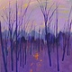 Acrylic painting Metcalfe Twilight by Gordon Sellen