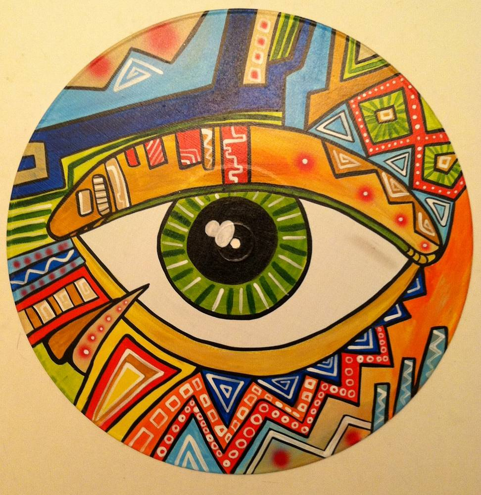 Tribal Eyeball by Isaac Carpenter