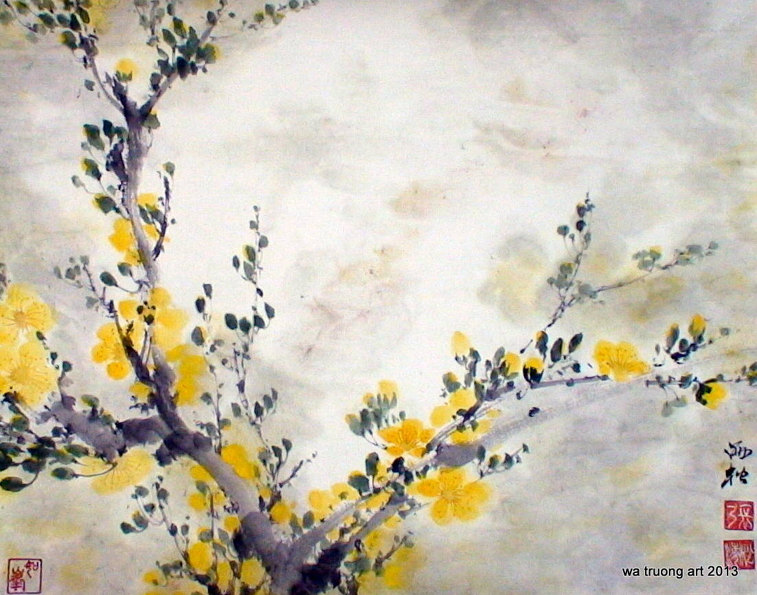 Yellow Flowers 3 by Dat Truong