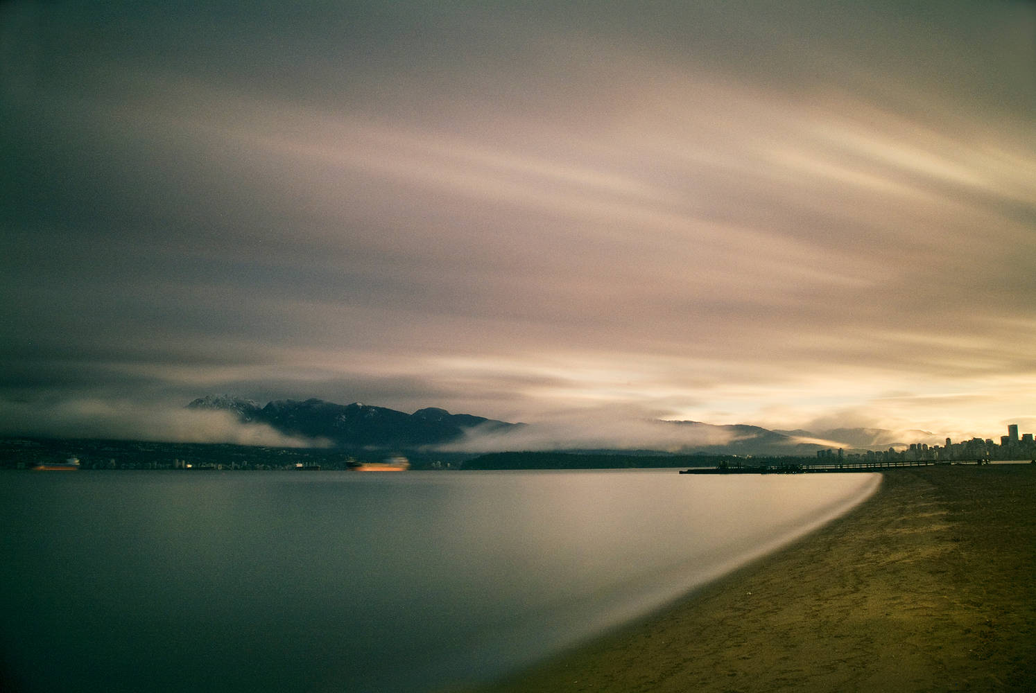 English Bay 3 by Jim Friesen