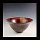 bowl red series 2014-004 by Elaine Clapper