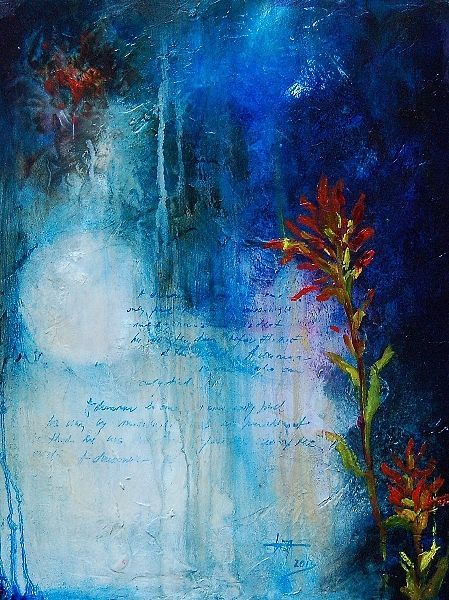 Oil painting Moonlight I by Liba Labik