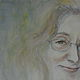 Watercolor Sandra  by Judith  Elsasser