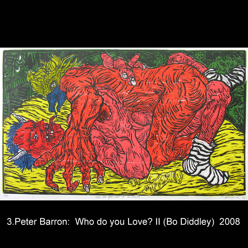 Who do you love II (Bo Diddley) by Peter Barron