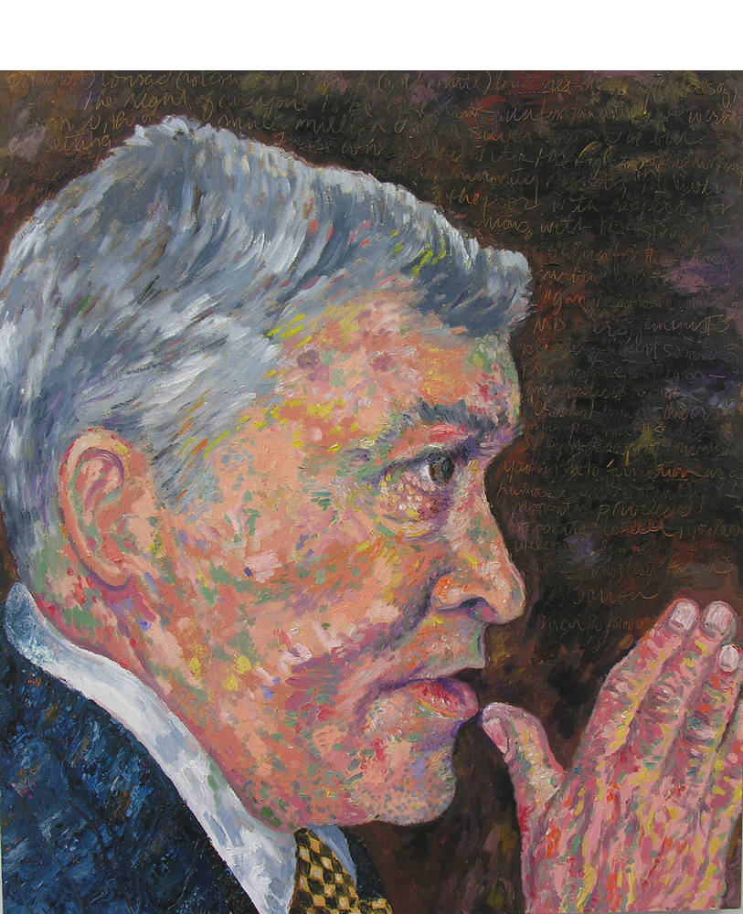 Portrait of Conrad Black by Peter Barron