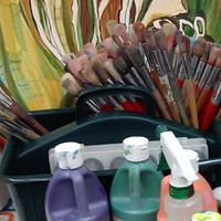 Art Supplies! by Yvonne Vander Kooi