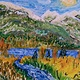 Oil painting Carpenter Creek - New Denver, B.C. by Gary Doll