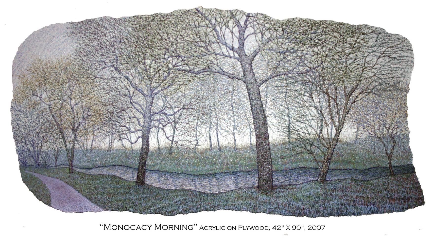 Monocacy Morning, 2007 by Douglas Moulden