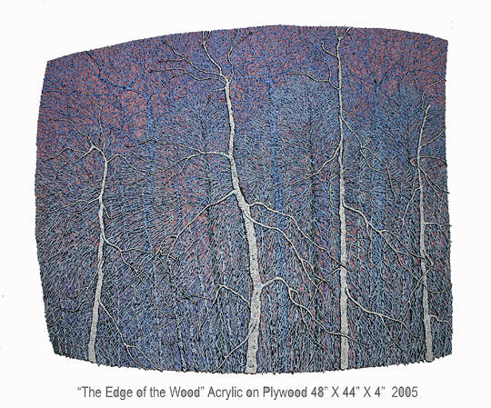 The Edge of the Wood, 2005 by Douglas Moulden