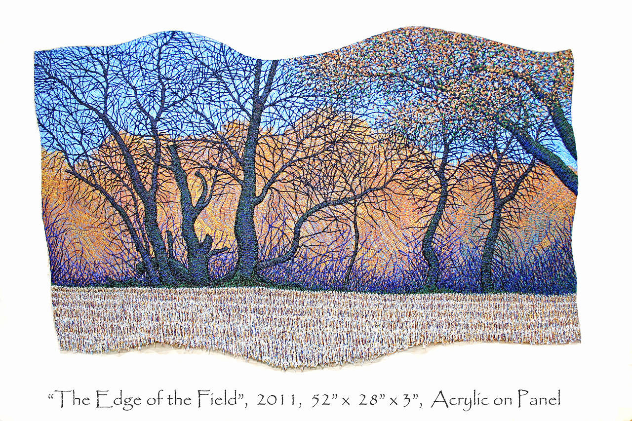 The Edge of the Field, 2011 by Douglas Moulden