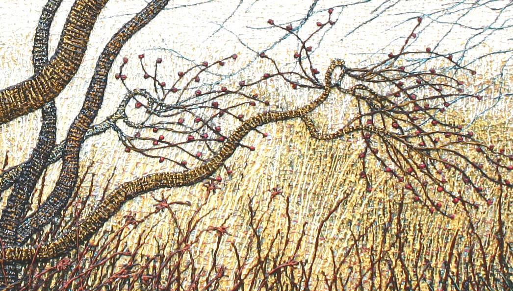 Winterberries,   2010 by Douglas Moulden