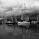 Jericho Yacht Club Boats  by Jim Friesen