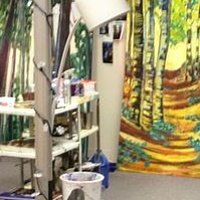 Painting Studio Process by Yvonne Vander Kooi