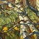 Oil painting Last Three Leaves by Bryan  Coombes
